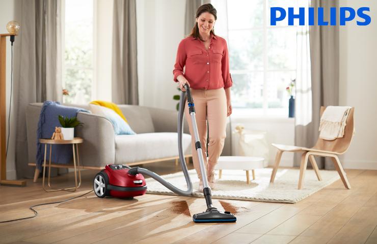 Sáčkový vysavač Philips