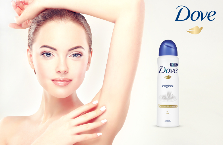 Dove Original - antiperspirant ve spreji