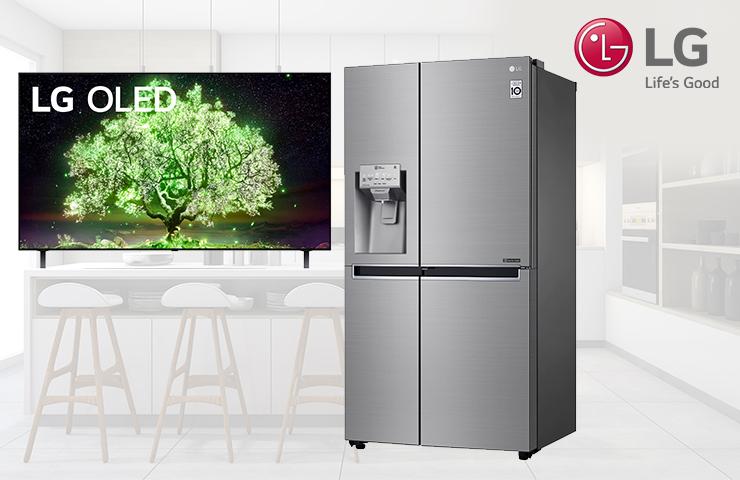 Zážitkové testování lednička SXS a TV LTV OLED A1