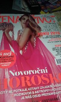 2d2fd5dbe4 Časopis Žena a život jsem dostala na akci Den kdy se budu mít ráda. Tento  časopis mám ráda
